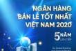 VietinBank lần thứ 5 nhận giải thưởng 'Ngân hàng Bán lẻ tốt nhất Việt Nam'
