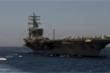 Iran liều lĩnh điều UAV do thám tàu sân bay Mỹ rồi phát lại trên truyền hình