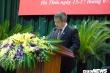 Ông Trần Tiến Hưng được bầu giữ chức Chủ tịch UBND tỉnh Hà Tĩnh