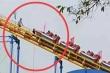 Con gái lén chơi tàu lượn siêu tốc, cặp vợ chồng xông vào phòng điều khiển dừng tàu