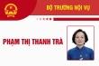 Infographic: Sự nghiệp Bộ trưởng Nội vụ Phạm Thị Thanh Trà