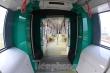 Ngắm nội thất hiện đại của tàu tuyến metro Nhổn - ga Hà Nội