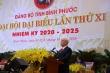 Khai mạc Đại hội Đảng bộ tỉnh Bình Phước
