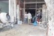 Chập điện công trình, nam công nhân bị giật rơi xuống đất, thương tích nặng