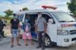 Bắt quả tang 2 xe cứu thương chở người từ vùng dịch về quê