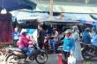 Đà Nẵng: Phớt lờ cảnh báo, nhiều người đi chợ, ra đường không đeo khẩu trang