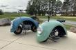 Xe máy kỳ dị làm từ ốp chắn bùn của ô tô Volkswagen Beetle