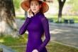 Hoa hậu Khánh Vân thành nàng thơ trong tà áo dài Huế