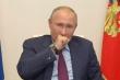 Ông Putin ho liên tục khi điều hành cuộc họp về COVID-19