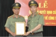 Thiếu tướng Đỗ Văn Hoành được bổ nhiệm làm Chánh Văn phòng Cơ quan Cảnh sát Điều tra Bộ Công an