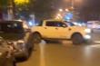 Sau va chạm giao thông, tài xế lùi xe húc thẳng ô tô đối thủ