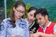 Hoa hậu Thùy Trang xót xa khi về Hòa Bình cứu trợ thiên tai
