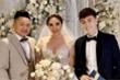 Bảo Thy diện váy cưới xuyên thấu, Ngô Kiến Huy có mặt chúc mừng