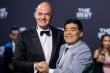 Chủ tịch FIFA: 'Maradona là tài năng phi thường nhất của thế giới bóng đá'