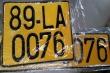Từ 1/8, xe kinh doanh vận tải phải đổi biển màu trắng sang màu vàng