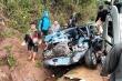 Clip: Xe biển xanh đi sai làn đường gặp nạn ở Sơn La, 5 người thương vong
