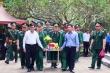 Ông Trương Tấn Sang dự lễ truy điệu các anh hùng liệt sĩ  tại Vị Xuyên