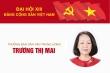 Infographic: Sự nghiệp Trưởng Ban Dân vận Trung ương Trương Thị Mai