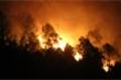 Rừng ở Nghệ An, Hà Tĩnh rừng rực cháy trong đêm