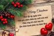 Lời chúc Giáng sinh an lành ngắn gọn nhưng đầy ý nghĩa