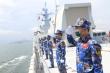 Biên đội tàu hộ vệ Việt Nam đến Nga tham gia Lễ Duyệt binh và Army Games 2021