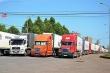 60 xe hàng đã thông quan qua cửa khẩu Hữu Nghị