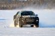 Hyundai Santa Cruz 'ngụy trang' kín mít, chạy thử nghiệm ở Bắc Cực