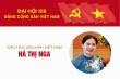Infographic: Sự nghiệp Chủ tịch Hội LHPN Việt Nam Hà Thị Nga