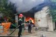 Cháy lớn ở làng nghề chăn ga gối nệm Thường Tín