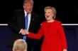 100 triệu lượt người xem Trump đấu khẩu với Clinton