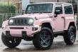 Jeep Wrangler màu hồng siêu lãng mạn