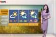 BTV Thời tiết được 'nhuộm tím' trên sóng truyền hình