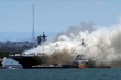Video, ảnh: Cháy nổ dữ dội trên siêu tàu đổ bộ USS Bonhomme Richard của Mỹ