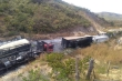 Video: Tai nạn liên hoàn trên cao tốc, nhiều xe cháy trơ khung, 8 người chết