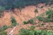 Lở đất vùi lấp lán trại của 4 người lên rừng tìm trầm, 1 người chết, 3 mất tích