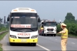 CSGT Bắc Ninh xử lý tình trạng xe ôm chạy theo xe bắt khách tại Quốc lộ 18
