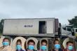 Bắt nhóm người đánh bạc trên thùng xe tải ở Hà Nội