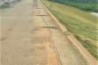 Thân đập ở Thanh Hóa xuất hiện vết nứt dài 173m giữa mùa mưa bão
