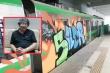 Tàu Cát Linh - Hà Đông bị vẽ bậy, chuyên gia mỹ thuật: 'Ở Đức đó là trào lưu nghệ thuật'