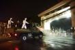 10 xe đặc chủng của Quân đội khử khuẩn toàn bộ  Bệnh viện Bạch Mai