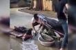 Clip: Gội đầu như rửa xe máy
