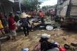 Hiện trường vụ xe tải trọng lớn lao thẳng vào chợ, 5 người chết ở Đắk Nông