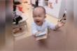 Clip em bé nín khóc ngay khi thấy cọc tiền