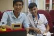 Gặp nhóm sinh viên tài năng chế tạo thiết bị định vị đeo tay cứu nạn ngư dân trên biển