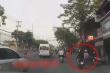 Video: CSGT truy đuổi 2 tên cướp giật điện thoại trên phố TP.HCM