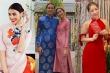 Dàn mỹ nhân Việt xúng xính áo dài diện Tết: Người chọn đỏ nổi bật, người họa tiết trẻ trung