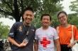 Ông Đoàn Ngọc Hải lần thứ hai chinh phục marathon giữa đêm Hà Nội