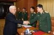 Ảnh: Tổng Bí thư, Chủ tịch nước chủ trì hội nghị Quân ủy Trung ương