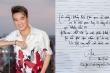 Hồng Nhung, Bằng Kiều xuýt xoa trước chữ viết đẹp mắt của Đàm Vĩnh Hưng