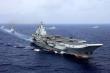 Nhóm tác chiến tàu sân bay Trung Quốc tập trận gần Đài Loan